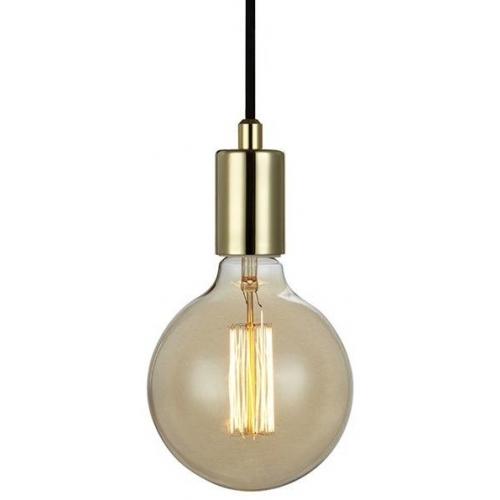 Industrialna Lampa wisząca Sky Markslojd do salonu. Kolor: złoty