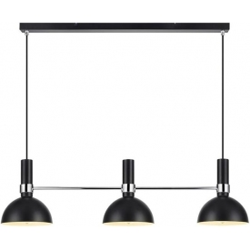 Larry black pendant lamp with 3 lights Markslojd
