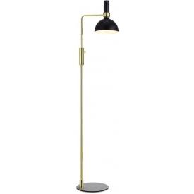 Larry Gold black modern floor lamp Markslojd