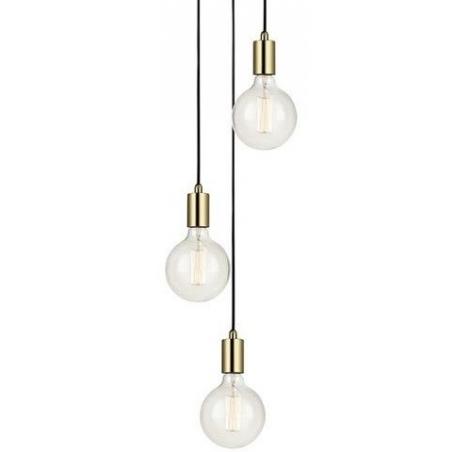 Złota lampa sufitowa Sky Gold One [OUTLET] Markslojd