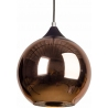 MBC X 30 copper glass ball pendant lamp