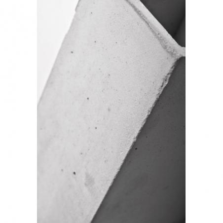 Industrialny Kinkiet betonowy ścienny Orto Jasnoszary LoftLight do sypialni i salonu.