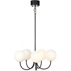 Szklana duża lampa wisząca Glass Ball