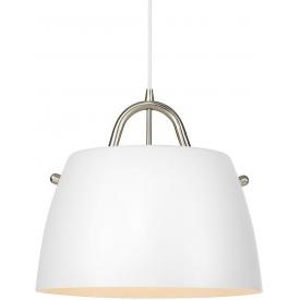 Stylowa Lampa wisząca skandynawska Spin 38 Markslojd do salonu. Kolor biały