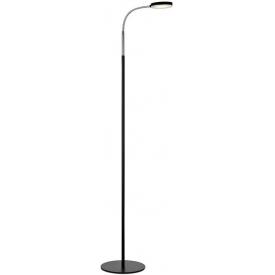 Lampa podłogowa Trivet w stylu industrialnym na trójnogu