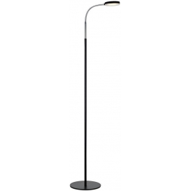 Trivet floor lamp in industrialn style