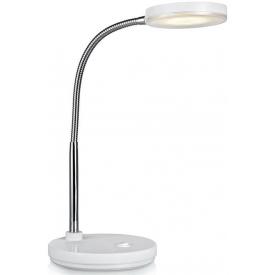 Czarna metalowa lampa podłogowa Nomi