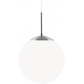 Stylowa Szklana lampa szklana Cafe 15 Nordlux do salonu. Kolor biały