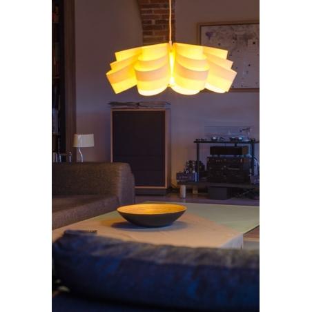 Designerska Lampa wisząca Fiora 50 Ecru LoftLight do salonu i sypialni.