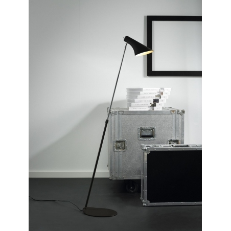 Vanila black floor lamp Nordlux