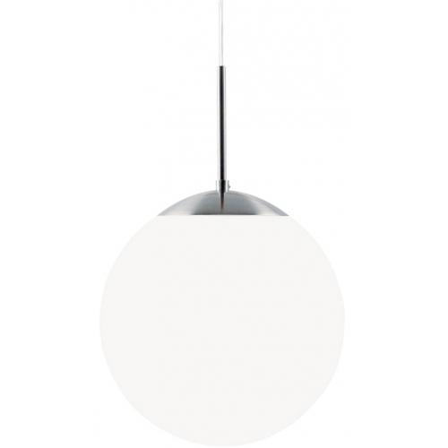 Cafe 20 white glass ball pendant lamp Nordlux