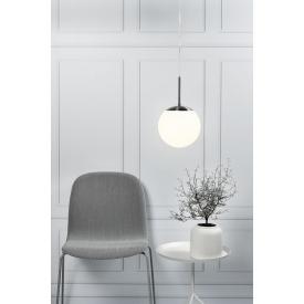 Stylowa Lampa miedziana wisząca Wirio 36 Copper Lucide do salonu o ciekawym kształcie. Styl industrialny.