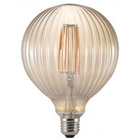 Stylowa Lampa wisząca skandynawska Woody 42 Lucide do salonu. Kolor buk.