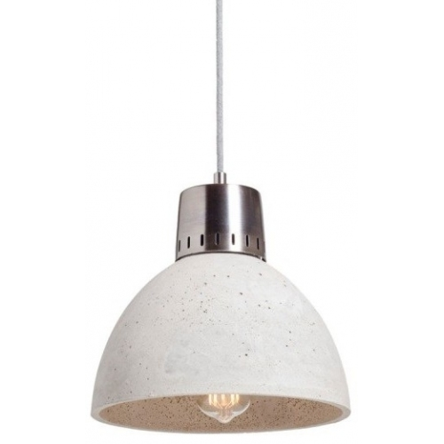Korta 28 light grey concrete pendant lamp LoftLight