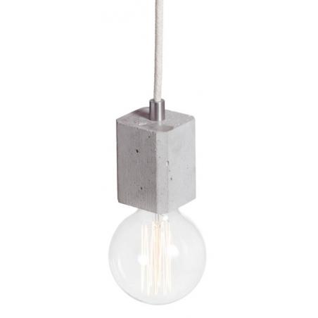 alla Quadro 7 light grey concrete pendant lamp KLoftLight