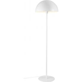 Stylowa Lampa wisząca druciana Tess 46 do salonu. Kolor biały, czarny, Styl industrialny.