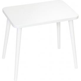Stylowy Plafon sufitowy Alba 30 LED DFTP do salonu. Kolor szary, biały. Styl skandynawski.