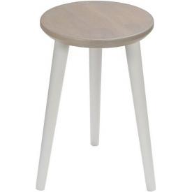 Designerska Lampa stołowa drewniana Kullen 22 Markslojd do salonu. Kolor biały, Styl skandynawski.