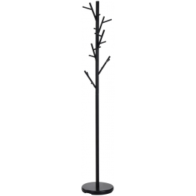 Orbis black metal coat stand Halmar