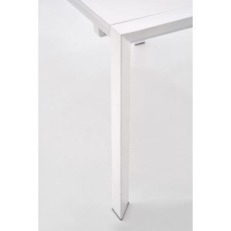 Stanford 130x80 white extending dining table Halmar