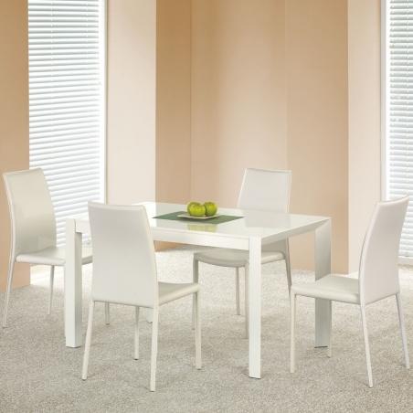Stylowy Stół prostokątny Stanford 130 Halmar do kuchni. Kolor biały