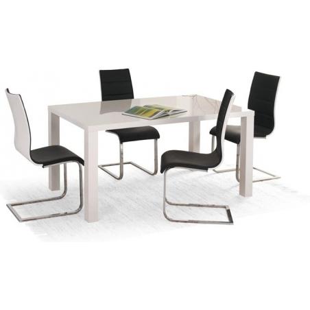 Stylowy Stół prostokątny Ronald 120x80 Biały Halmar do kuchni, restauracji lub kawiarni.