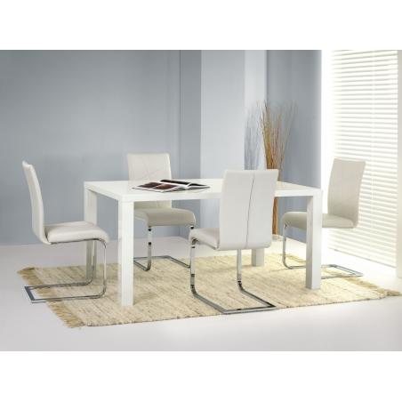 Stylowy Stół prostokątny Ronald 120 Halmar do kuchni. Kolor biały