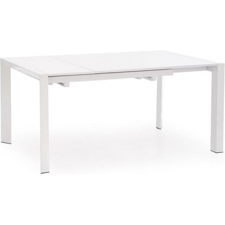 Stanford 130x80 white extending dining table Halmar