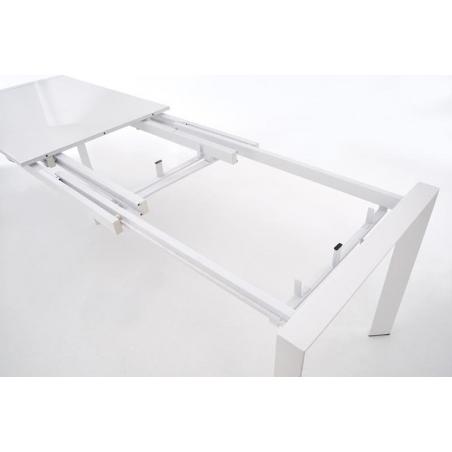 Stylowy Stół rozkładany Stanford XL 130x80 Biały Halmar do jadalni, kuchni i salonu.