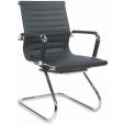 Białe krzesło inspirowane RAR do salonu