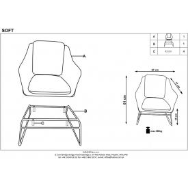 Skandynawska lampa stołowa Curf do sypialni