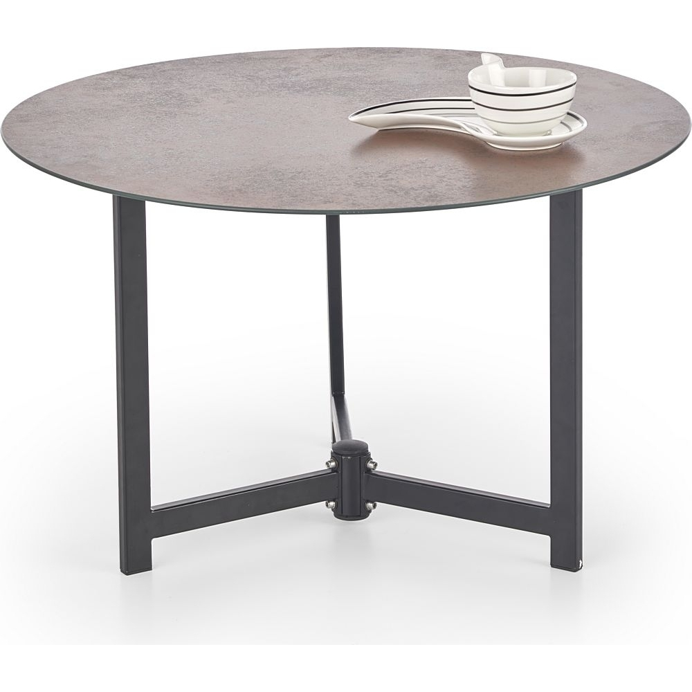 Designer Round Coffee Table For Waiting Rooms In A Modern Style