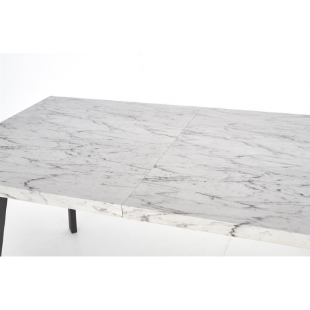 Stylowy Stół prostokątny DALLAS 160 Halmar do jadalni. Kolor marmur