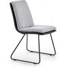 Krzesło tapicerowane K326 Halmar do jadalni. Kolor: jasny popiel