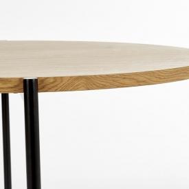 Designerska Ażurowa lampa stołowa Beli Black 12 Lucide do salonu. Kolor czarny, Styl nowoczesny.