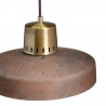 Korta 33 brown concrete pendant lamp LoftLight
