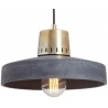 Korta 33 anthracite concrete pendant lamp LoftLight