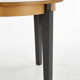 Ogrodowe Krzesło z podłokietnikami Alma Resol. Kolor biały, czarny, Styl nowoczesny.