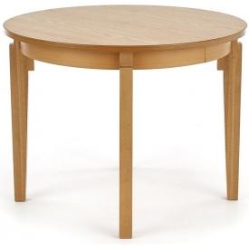 Skandynawski Stół okrągły rozkładany Sorbus II 100 Dąb Halmar do salonu, jadalni i kuchni.