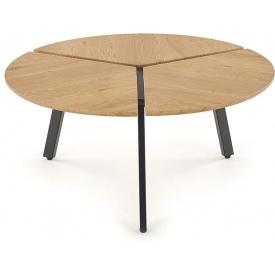 Tapicerowane krzesło Fox Signal do jadalni. Kolor: granatowy, miętowy, szary, podstawa drewniana. Styl skandynawski, 149,00 PLN.