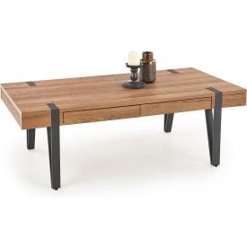 Stylowa Lampa stołowa industrialna Jesper Brilliant do salonu. Kolor szary, Styl industrialny.