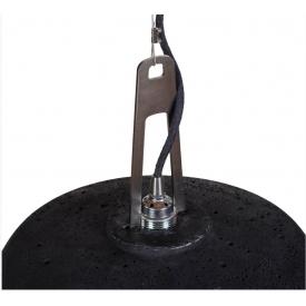 Krzesła nowoczesne Bobo Black półprzeźroczyste