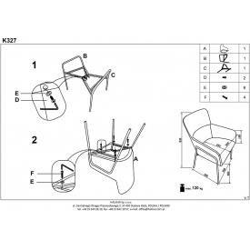 Designerski Fotel wypoczynkowy Vip Natural D2.Design do salonu. Kolor biały, czarny, Styl inspirowane.