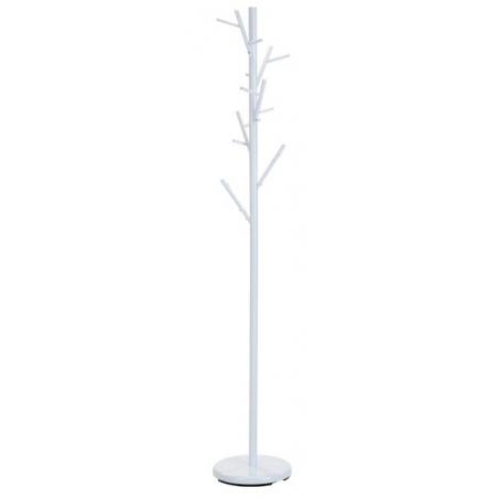 Orbis W33 white metal coat stand Halmar