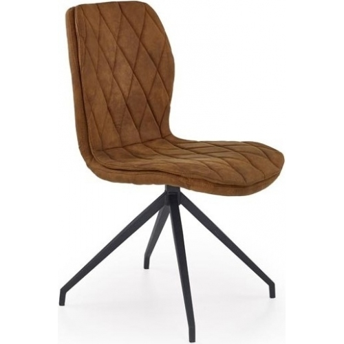 Kolorowe tapicerowane krzesło Erin