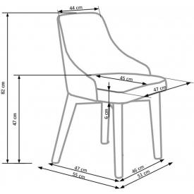 Designerskie krzesło Lenox