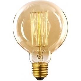 Edison Globe E27 40W amber decorative bulb Altavola