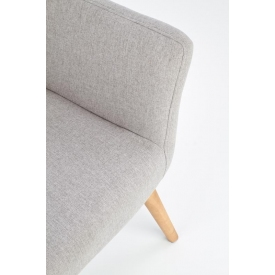 Designerski Stolik kawowy kwadratowy Largo (zestaw) Signal do salonu. Kolor dąb z czarnym, stelaż/podstawa metalowa.