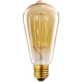 Żarówka ozdobna Edison 6 gwint e27. Styl retro.