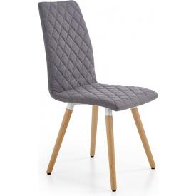 Designerski Fotel tapicerowany Pivot Halmar do sypialni. Kolor popiel, zielony, Styl nowoczesny.